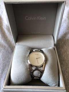 Calvin Klein women's silver watch