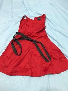 Ralph Lauren dress , Mango girl jeans and dress