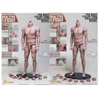 JXToys 1/6 Scale Asian Type Articulate Body