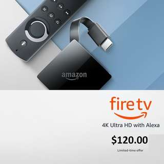 no nego, Fire TV with 4K Ultra HD and Alexa Voice Remote (Pendant Design) | Streaming Media Player | 4K Ultra HD and HDR support