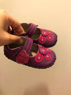 Pedipad girl shoes 12-18 months