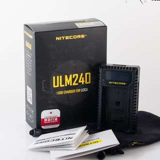 Authentic Nitecore Charger for Leica - M9 / Q /m240