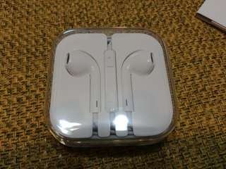 🚚 全新Apple 3.5mm earpods耳機
