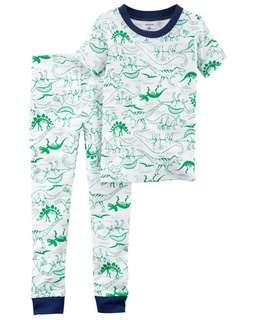 Carter's 2 Piece Dinosaur Pyjamas