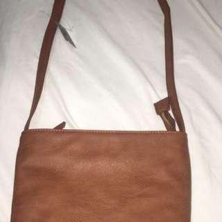 Brown new handbag