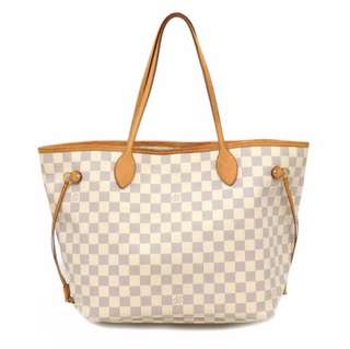 Lv neverfull mm azur guaranteed authentic