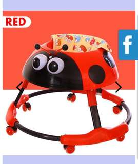 Red Lady Bug Walker