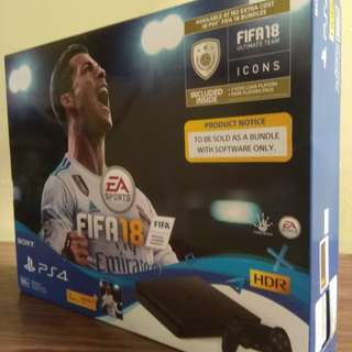 New PS4 with FIFA18 Bundle