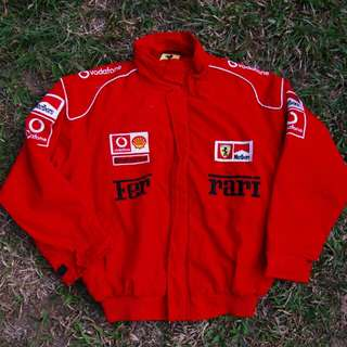 Vintage Ferrari Windbreaker Jacket