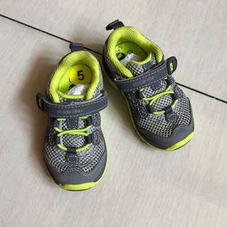 Stride Rite rubber shoes for toddler