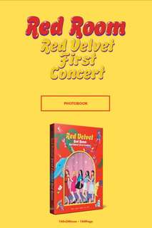 [PRE ORDER] RED VELVET FIRST CONCERT - RED ROOM
