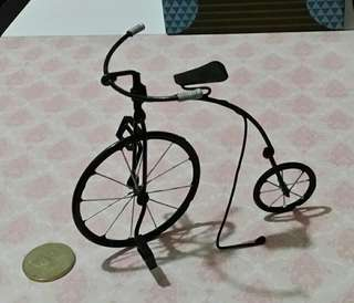 Miniature Bicycle for Table Decor