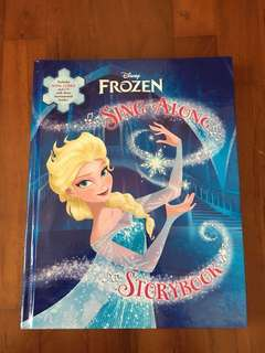 Frozen Sing Along Storybook