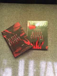 BUNDLE: Bloody Crayons Book 1 & 2