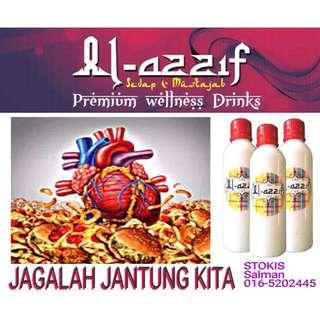 AL-Azzif-Minuman Khasiat untuk Jantung Dan Badan