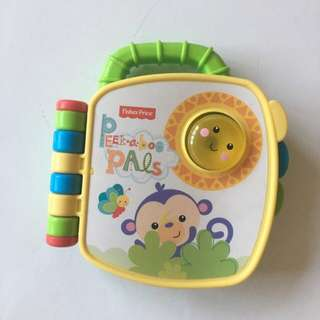 Fisher Price Peek a Boo Pals book