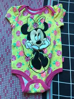 Preloved Baby Minnie Mouse romper