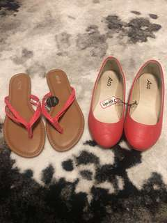 2 flats size 6-6.5, $8 for both
