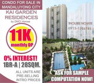 P11,000/Month-No Spot Downpayment required (For Sale Condominium Near BGC & Makati)