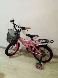 Preloved bicycle for toddler