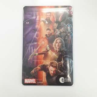 Marvel Infinity War Ezlink Card