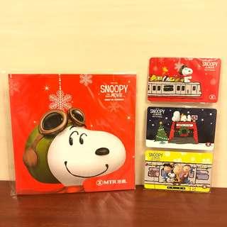 港鐵2015年 Snoopy 聖誕特別版紀念車票