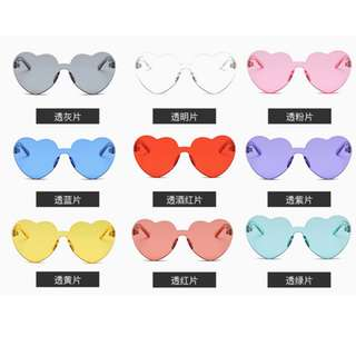 Heart Sunglasses perfect for summer!