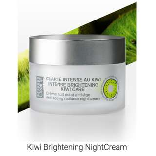 BC Paris Intense Brightening Kiwi Care Anti Ageing Radiance Night Cream 50ml (19149)