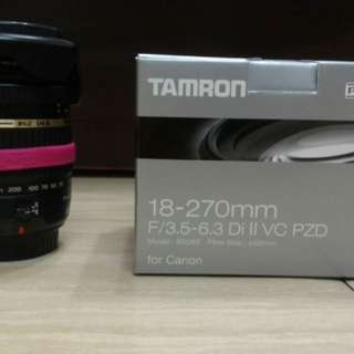 🚚 TMARON 18-270mm For Canon
