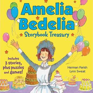 (Brand New) Amelia Bedelia Storybook Treasury Calling Doctor Amelia Bedelia; Amelia Bedelia and the Cat; Amelia Bedelia Bakes Off   By: Herman Parish, Lynn Sweat (Illustrator) Hardcover