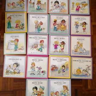 18 Book Set of Help Me Be Good By Joy Berry