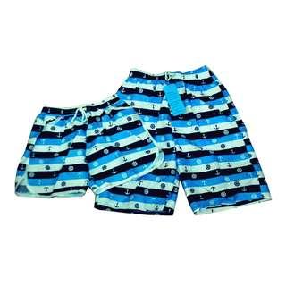 Fashion Casual Beach wear Couple shorts (1pair) KB-41