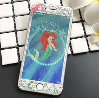 Iphone 7 plus 美人魚 玻璃貼