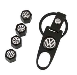 Tire Air Valve Caps for Volkswagen