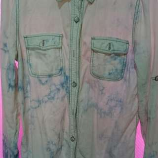 Bleached shirt by forever 21