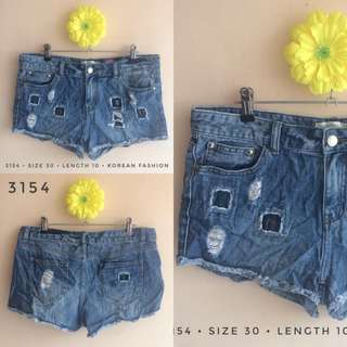 3154 DENIM SHORTS