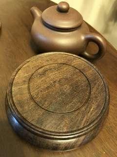 木制茶壺托