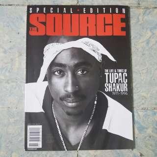 Tupac Shakur | The Source Magazine