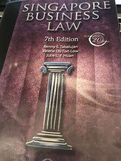 Singapore Business Law(7th Edition)