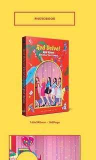 [GO] Red Velvet Concert Red Room official Photobook