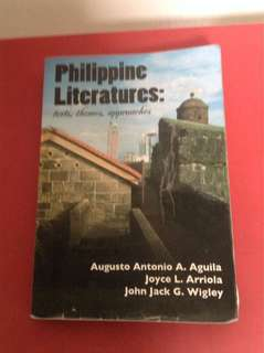 Philippine Literatures: Texts, Themes & Approaches