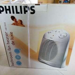 Philips Bathroom Fan Heater de Luxe  HD3522 飛利浦暖風機 暖爐 浴室適用