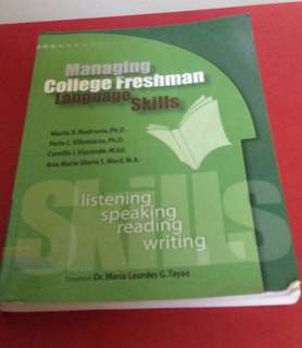 Managing College Freshman Language Skills