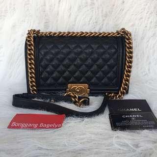 Chanel Leboy Caviar