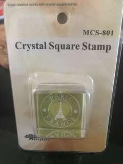 Crystal Square stamp