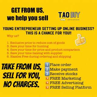 Business Opportunity / Online Shopping / Online business / Partnership