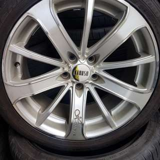Used 18 inch 5H114.3 rims