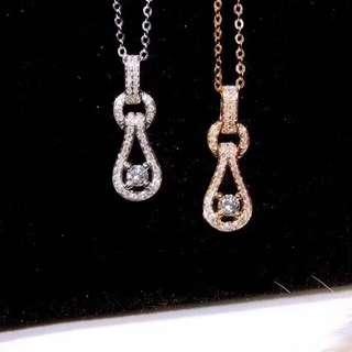 18K金 鑽石項鍊