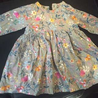 MotherCare Floral Dress 6-9 Mths
