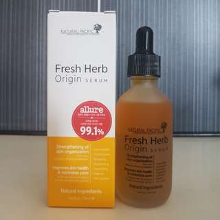 Natural Pacific Fresh Herb Origin Serum 50 ml